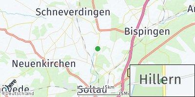 Google Map of Hillern