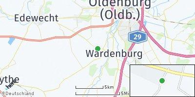 Google Map of Westerholt