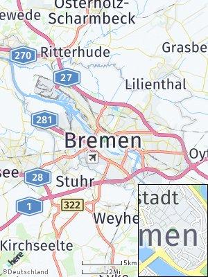 Here Map of Bremen