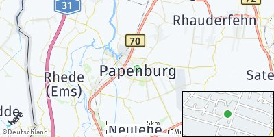 Google Map of Papenburg