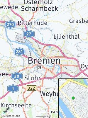 Here Map of Altstadt