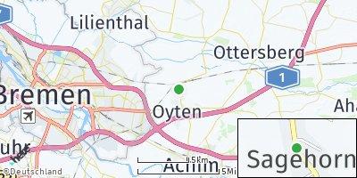 Google Map of Sagehorn