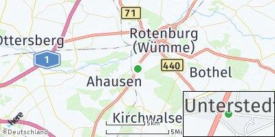 Google Map of Unterstedt