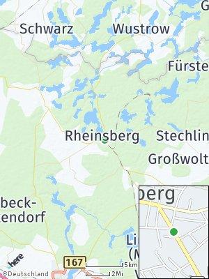 Here Map of Rheinsberg