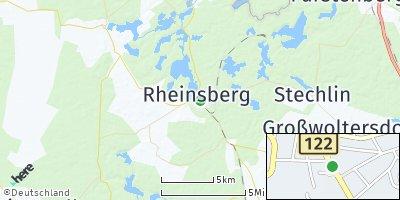 Google Map of Rheinsberg