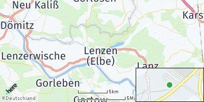 Google Map of Lenzen