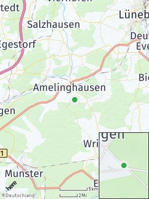 Here Map of Rehlingen