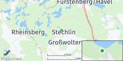 Google Map of Stechlin