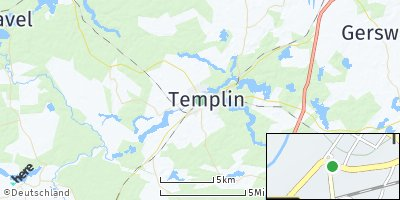 Google Map of Templin