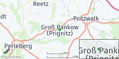 Google Map of Groß Pankow