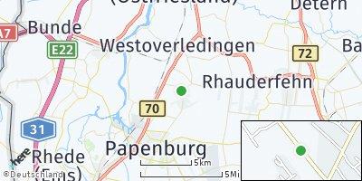 Google Map of Westoverledingen