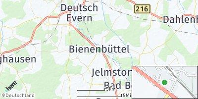 Google Map of Bienenbüttel
