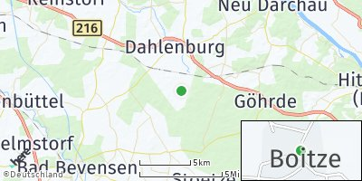 Google Map of Boitze