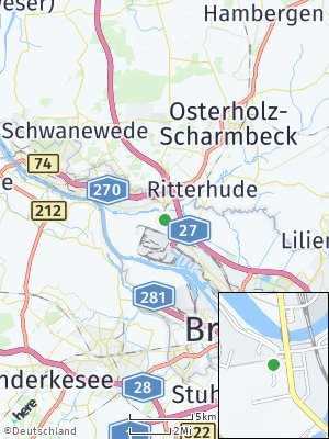 Here Map of Burg-Grambke