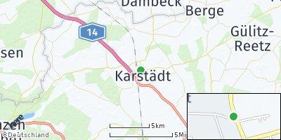 Google Map of Karstädt