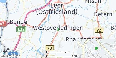 Google Map of Ihrhove