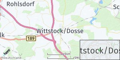 Google Map of Wittstock / Dosse