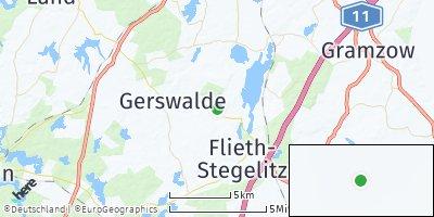 Google Map of Flieth-Stegelitz