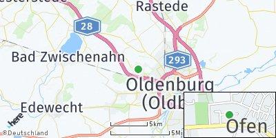 Google Map of Ofen
