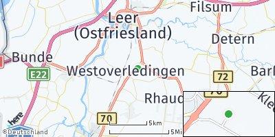 Google Map of Klinge