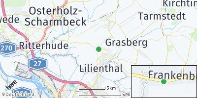 Google Map of Frankenburg