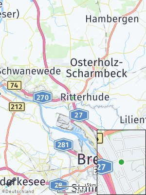 Here Map of Burgdamm