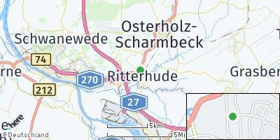 Google Map of Ritterhude