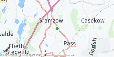 Google Map of Zichow