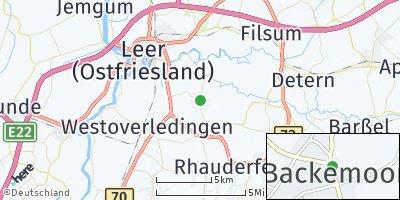 Google Map of Backemoor