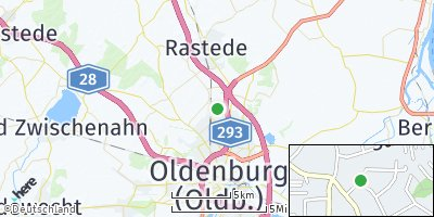 Google Map of Ofenerdiek
