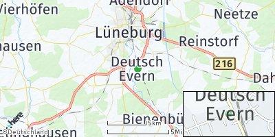 Google Map of Deutsch Evern