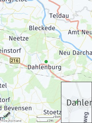 Here Map of Dahlem