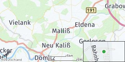 Google Map of Malliß