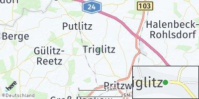 Google Map of Triglitz