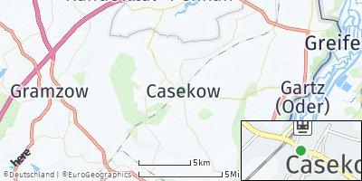Google Map of Casekow