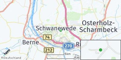 Google Map of Kreienmoor