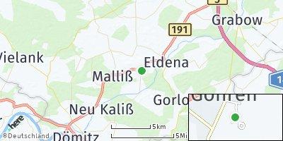 Google Map of Malk Göhren