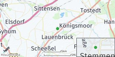 Google Map of Stemmen