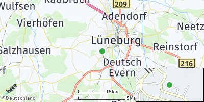 Google Map of Oedeme