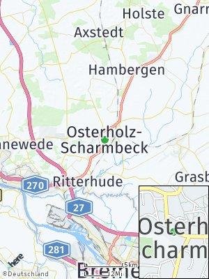 Here Map of Osterholz-Scharmbeck
