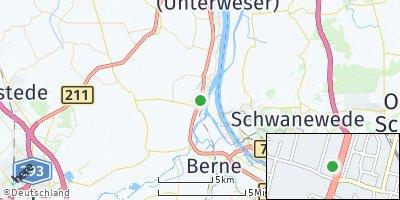 Google Map of Elsfleth