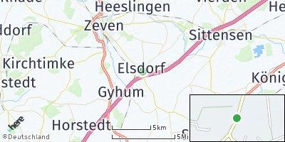 Google Map of Elsdorf