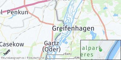 Google Map of Mescherin