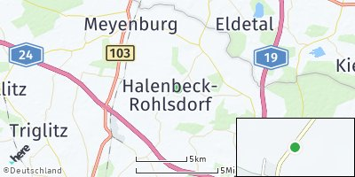 Google Map of Halenbeck-Rohlsdorf
