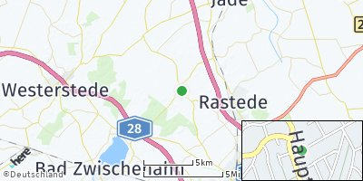 Google Map of Wiefelstede