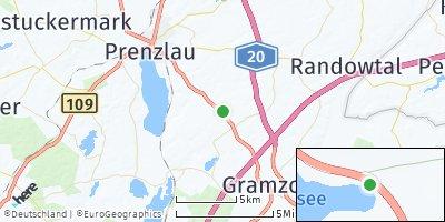 Google Map of Uckerfelde