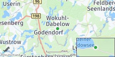 Google Map of Wokuhl-Dabelow