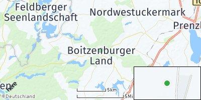 Google Map of Nordwestuckermark