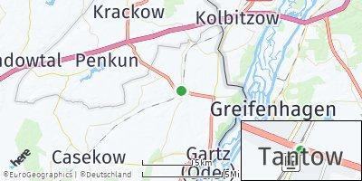 Google Map of Tantow