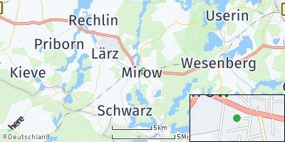 Google Map of Mirow